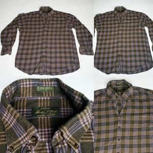 Orvis Signature Collection Plaid Flannel Longsleev